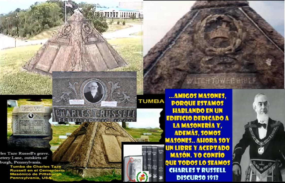 La Wachtower y el ocultismo numerologia y piramidologia unidas aqui las pruebas Piramide1